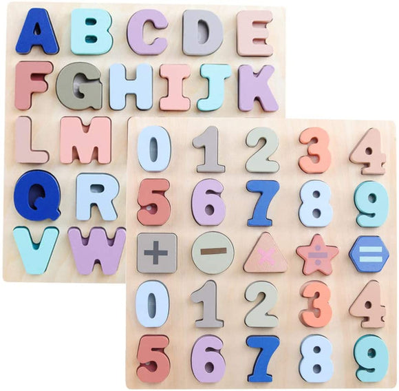 Wooden Learning Board Educational Puzzle Toy