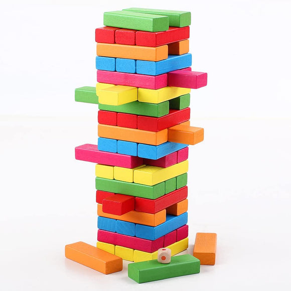Wooden Classic Stacking Board Game Toy