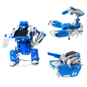 Assemble Solar 3-IN-1 Robot STEM DIY Toy