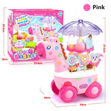 Ice Cream Candy Cart Play Kitchen Toy
