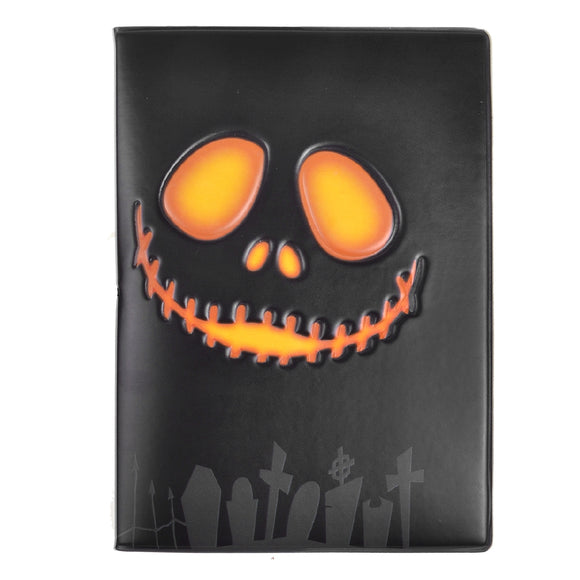 Ghost Head Passport Holder