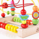 Wooden Bead Maze Toy For Kids