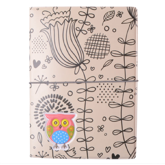 Cartoon Owl Cute Passport Cover