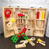 Wooden Kids Simulation Repair tools Toy Set