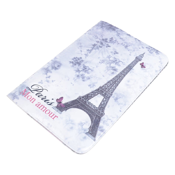 Effiel Tower Pattern Passport Cover Holder