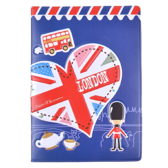 London Blue Passport Holder