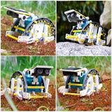Solar Robot STM Toy DIY Kit Set