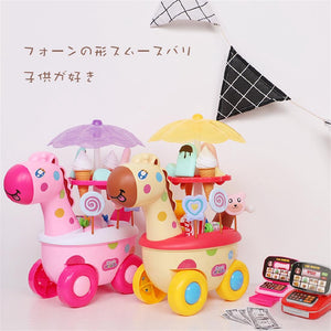 Kids Ice Cream Play Kitchen Toy Set