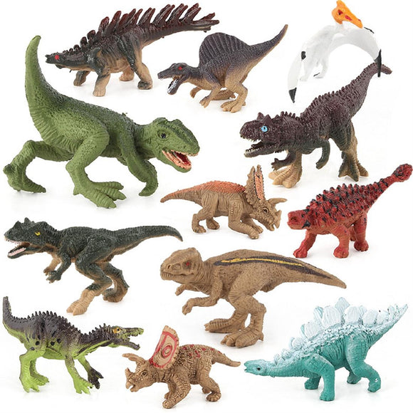 12PCS Action Figure Dinosaur Model Toys