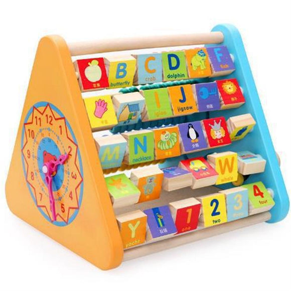 Wood Multi-functional Learning Educational Toy
