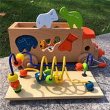 Wooden Animals Matching Toy