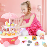 Candy Cart Ice Cream Supermarket Playing House Toy