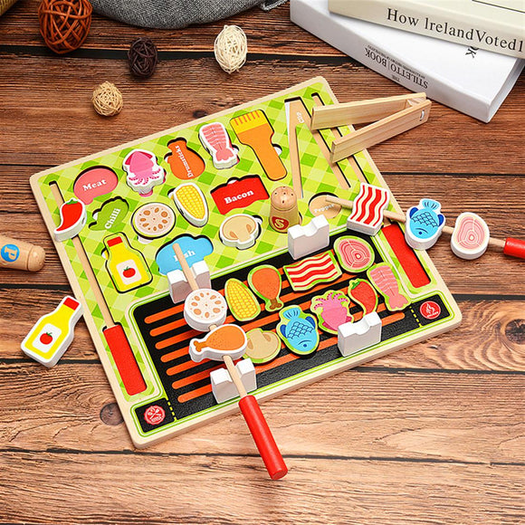 Pretend Play BBQ Toy Set