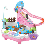Fishing Stair Climbing Toy
