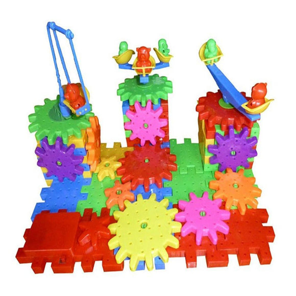 81 Pieces DIY Electric Building Block Toys