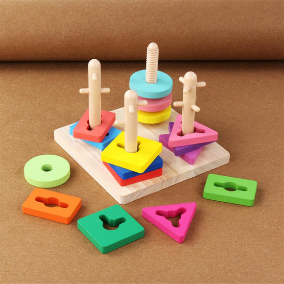 Wooden Stacking Game Toy