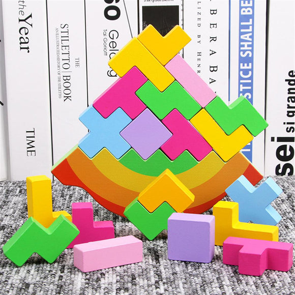 Wooden Stack Building Block