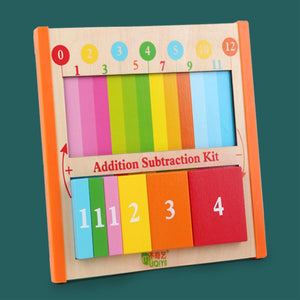 Wooden Arithmetic Learning Board Toy