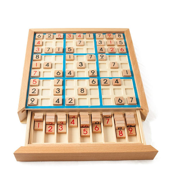 Wooden Sudoku Puzzle Toy