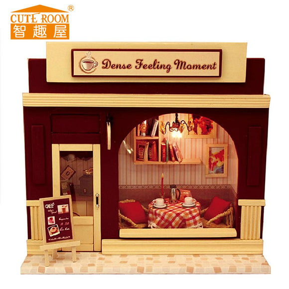 DIY House Model Toy Set