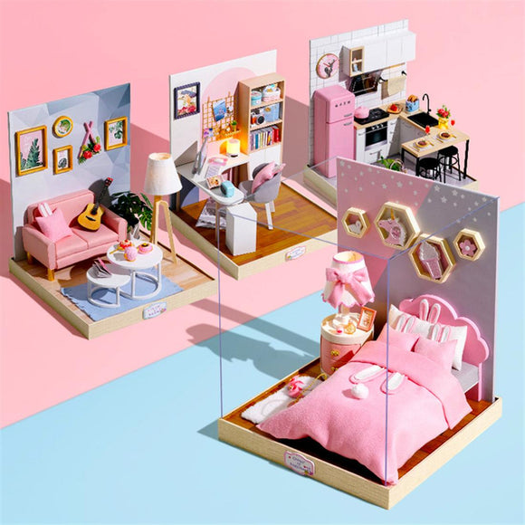 Creative DIY House Model Toy Set