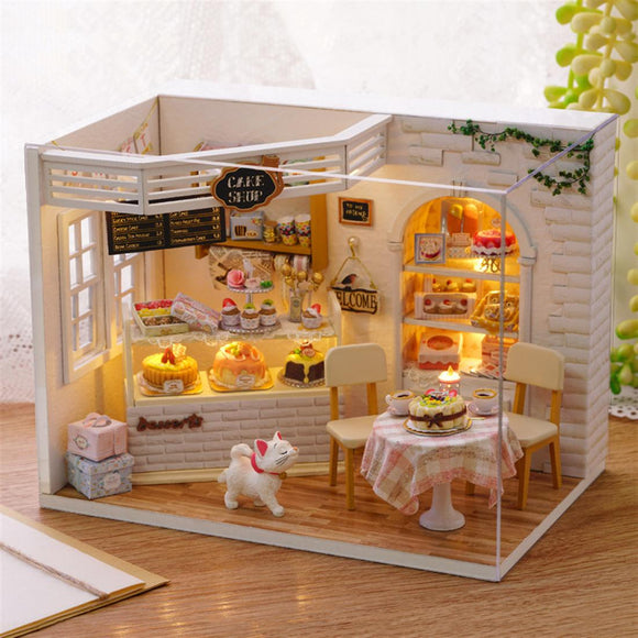 DIY Cake Shop House Model Set