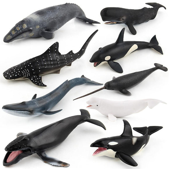 Action Figure Whale Model Toy For Kids
