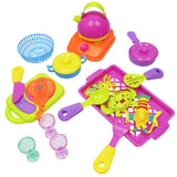 Pretend Play Kitchen Toy Set For Kids