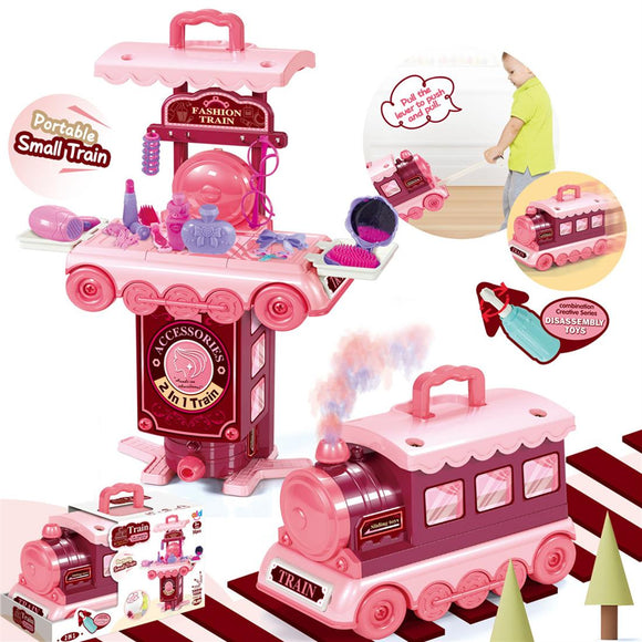 Pretend Play Ornaments Train Toy Set