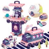Dessert Train Play Food Toy