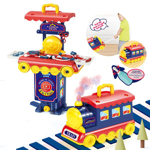 Medical Equipment Train Play Doctor Toy