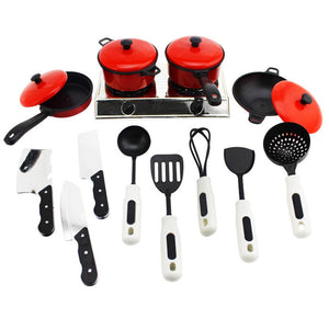 Mini Kitchen Cooking Pretend Play Food Toy Set