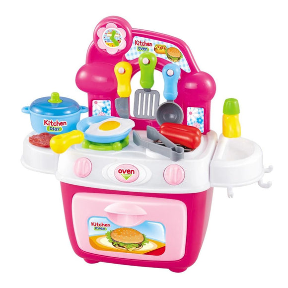 Cooking Pretend Play Kitchen Toy Set