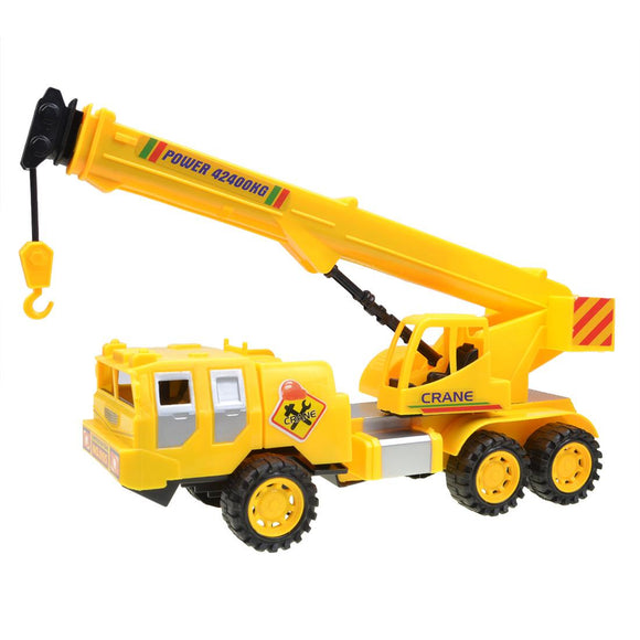 Kids Engineering Heavy Crane Truck Model Toy