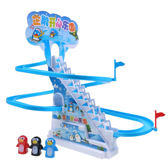 Penguin Race Climb Stair Toy Set