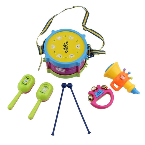 Musical Instrument Kids Drum Set