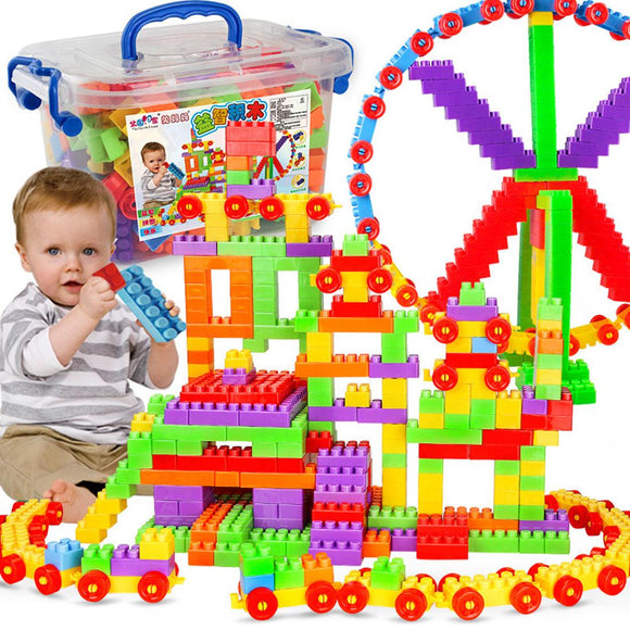 Educational DIY Building Blocks Toy For Kids