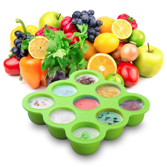 Baby Silicone Supplementary Food Ice Box