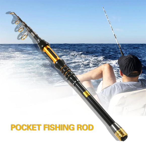 Portable Fishing Rod Pole