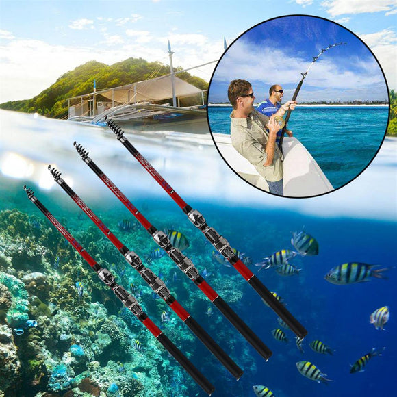 2.4M Telescopic Fishing Rod