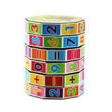 Digital Cylindrical Rubik's Cube Puzzle Toy