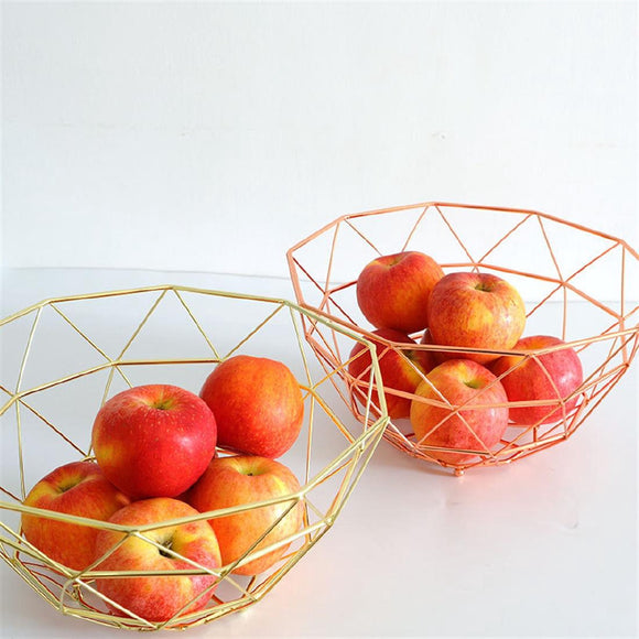 Kitchen Snack Storage Basket Fruit Plate