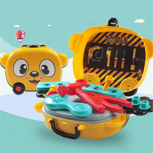 Children's Mini Bears Play Tools Toy Set
