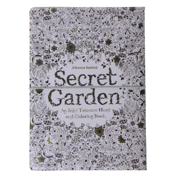 Secret Garden Passport Holder