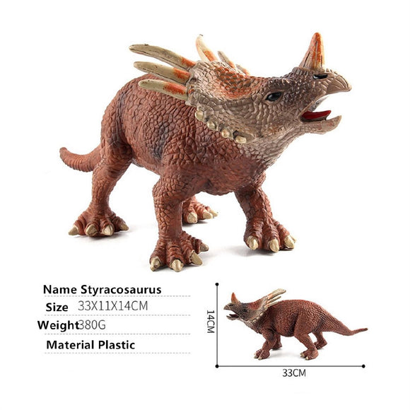 Jurassic Styracosaurus Dinosaur Series Toy Model