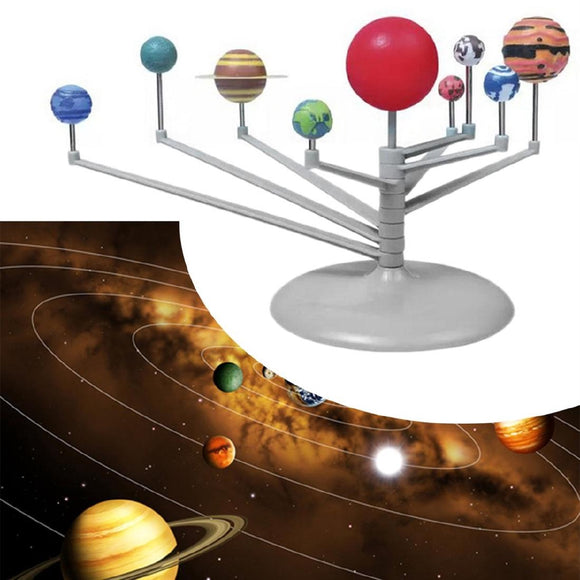 Astronomy Solar Planetarium Model DIY Kit Toy