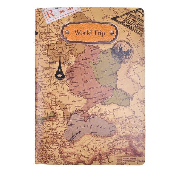 World Trip Travel Passport Cover