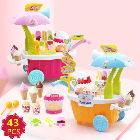 Play Kitchen Candy Ice Cream Sweets Toy Set
