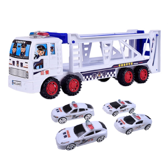 Car Container Double-decker Mini Toy Cars