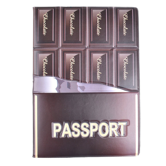 Chocolate Pattern Passport Cover